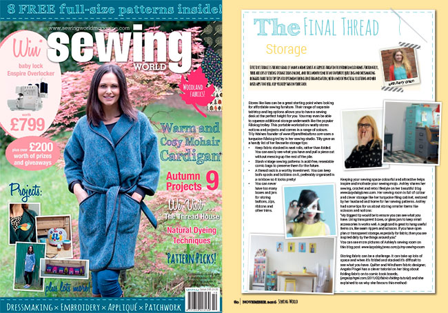 Sewing World October 2016