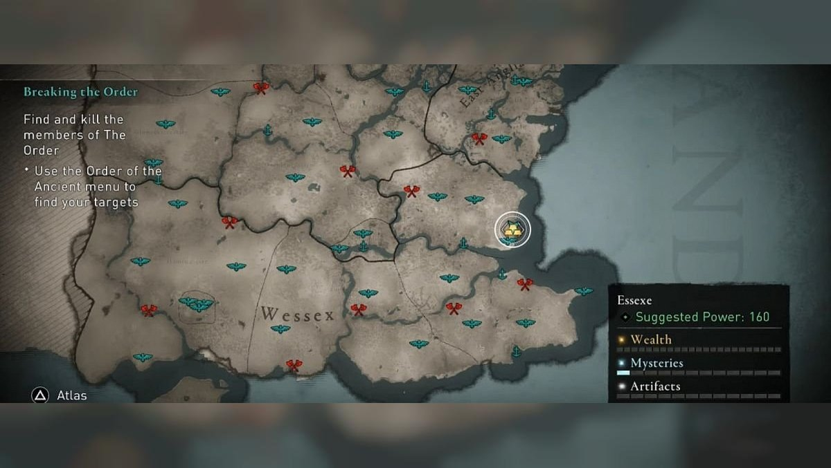 Where to find all the cultists of the Order of the Ancients in Assassin's Creed Valhalla. Maps of locations where the cultists are located.