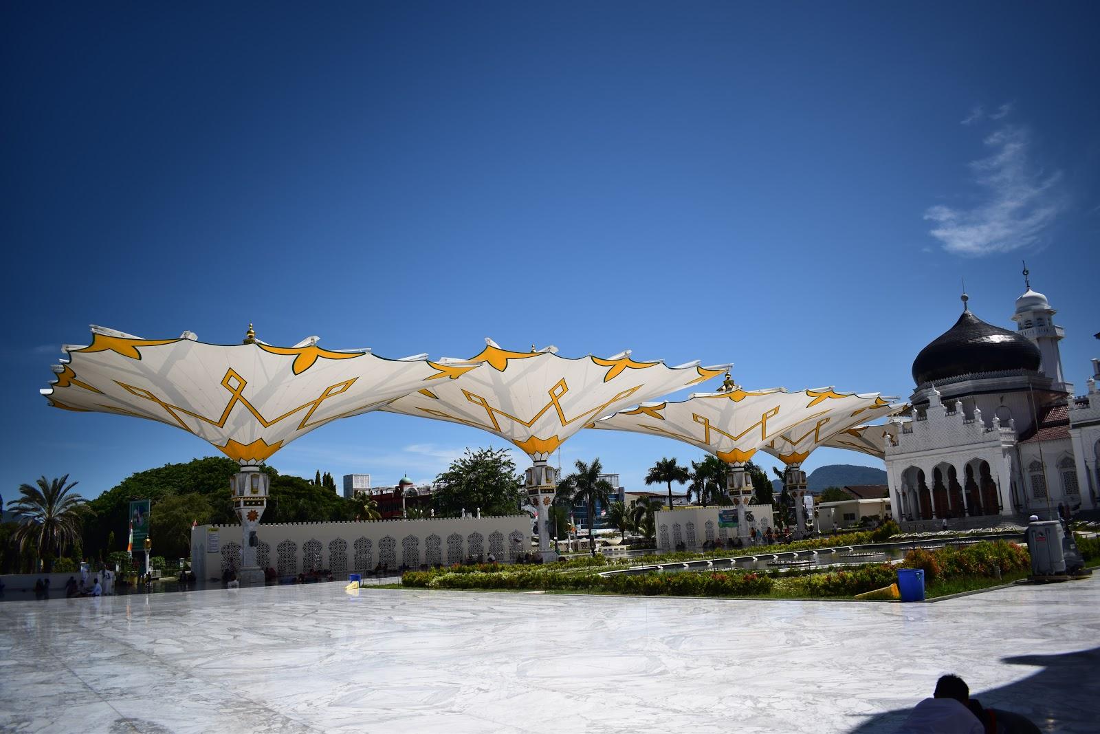 payung masjid baiturrahman