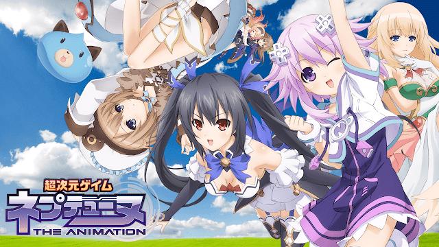 Choujigen Game Neptune The Animation BD + OVA : Episode 1-12 END + 1 OVA | Anime Loker