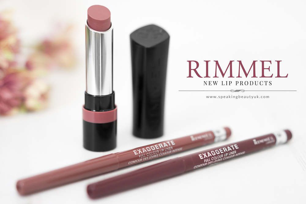 Rimmel The Only 1 Lipstick and Exaggerate Lip Liners