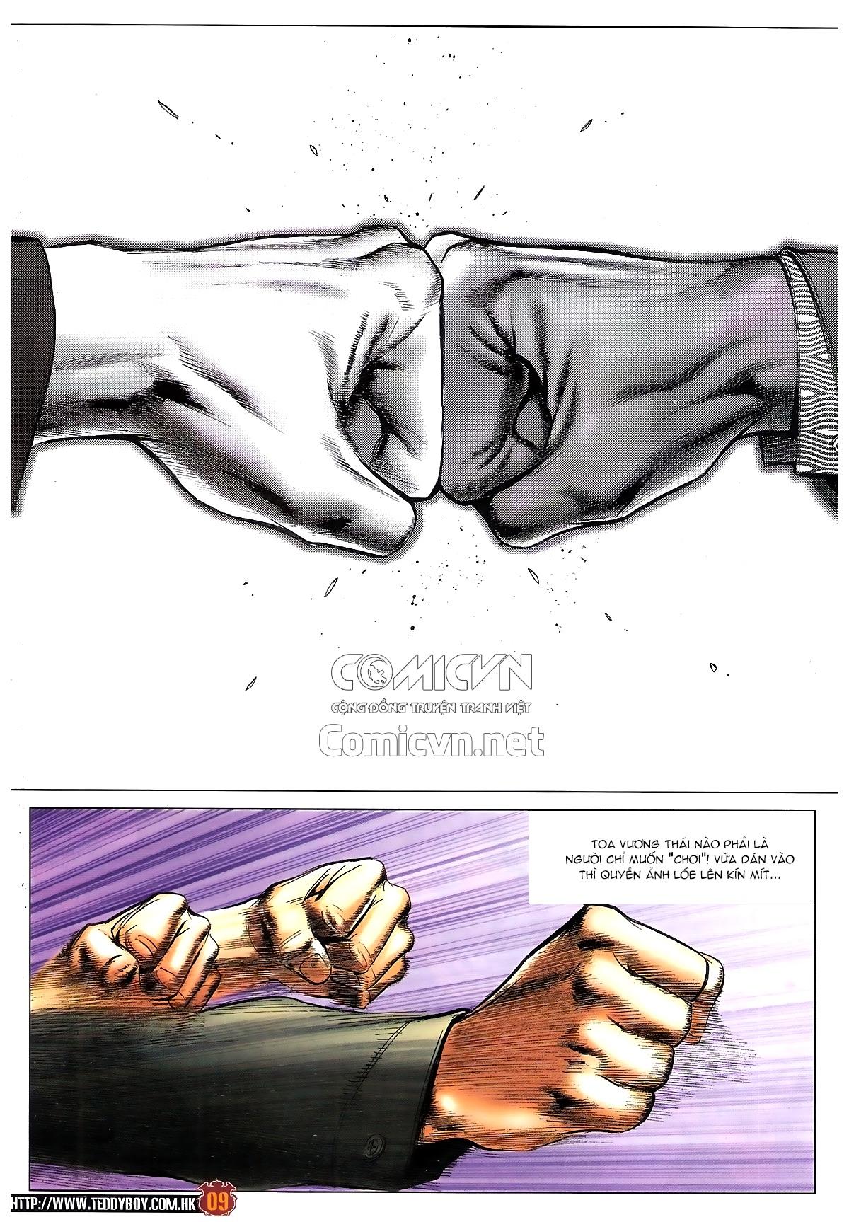 Người Trong Giang Hồ chapter 1814: trời giúp lương gia nhân trang 8