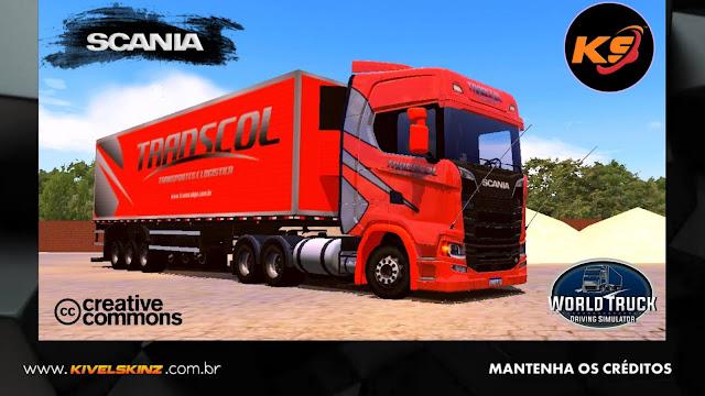 SCANIA S730 - TRANSCOL TRANSPORTES - LARANJA