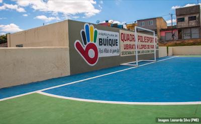 Em Buíque, prefeitura investe na reforma da Academia das Cidades