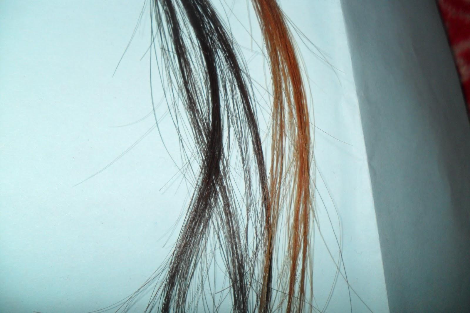 Bleach Your Hair Strand Test