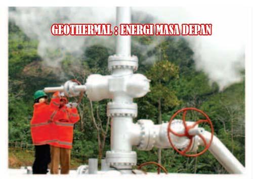 Penggunaan Energi Alternatif Geothermal