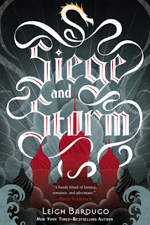 Siege and Storm (Grisha trilogy book 2) by Leigh Bardugo. The 2nd book in the Grisha trilogy is just as fast-paced and fun as the first. I'm on the edge of my seat waiting for #3.  Click through for full review. Via Diamonds in the Library.
