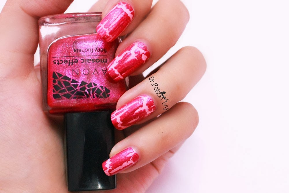 Dr Poison Ivy S Beauty Blog Avon Mosaic Effects Nail Polish Swatches