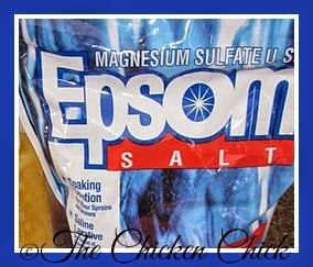 Epsom salt for sour crop treatment