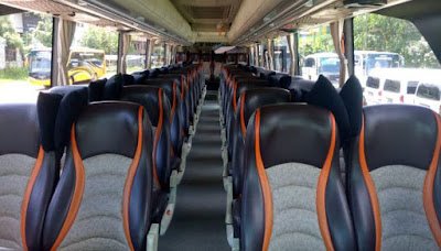 10 Tips Aman Berwisata Menggunakan Bus Untuk Para Traveller - Pemilihan Tempat Duduk