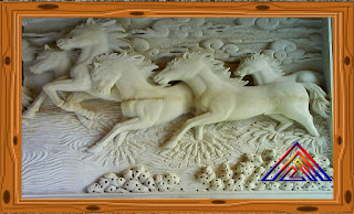 Relief kuda