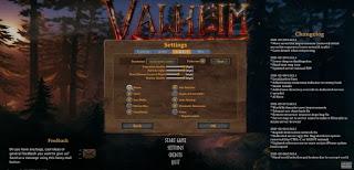 Valheim, Settings, Graphics