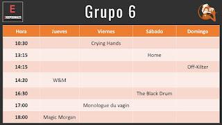 Grupo 6 de teatro
