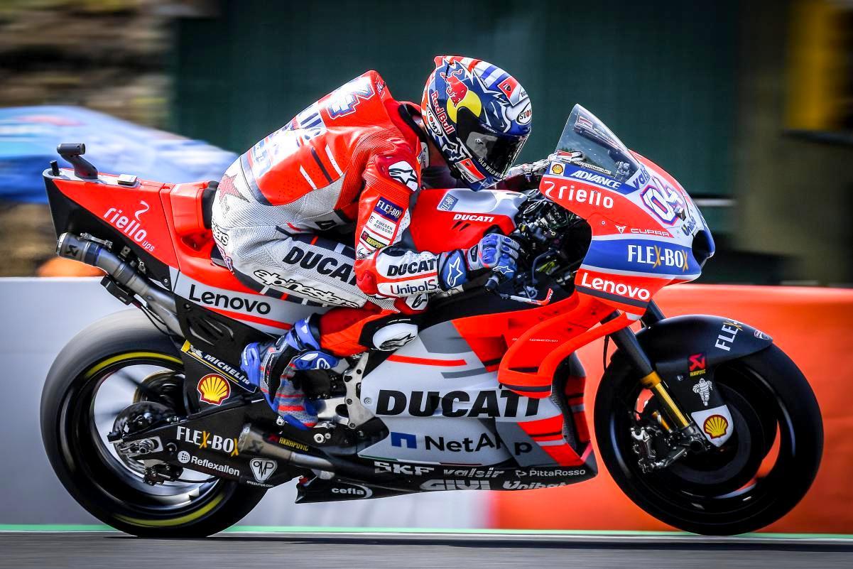 Tak lagi bersama Dovizioso,  akankah Ducati Desmosedici dapat kembali di jinakkan dan tampil kompetitif di Qatar