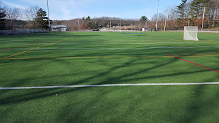 the artificial turf field at Beaver St.