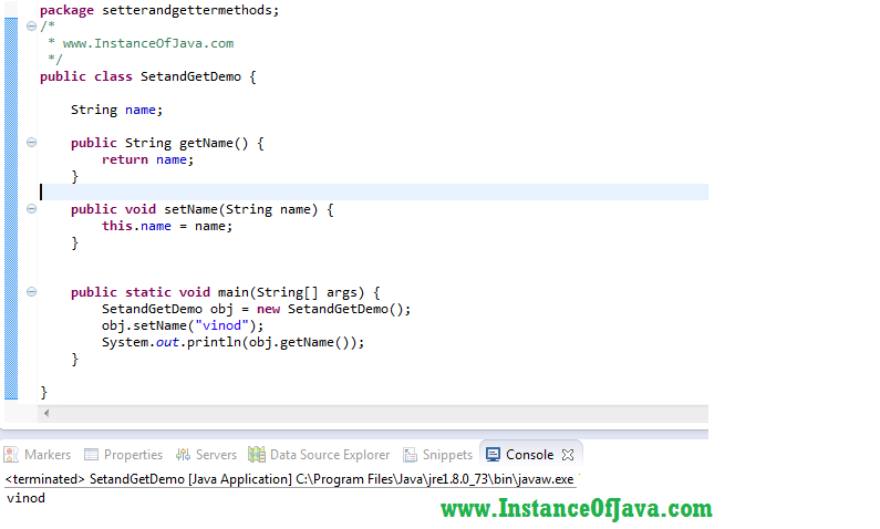 java how to give value to a string