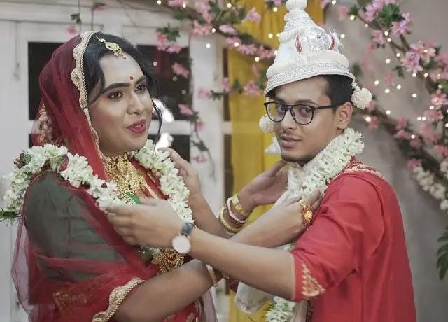 Sandy Saha Kiran Dutta Marrige