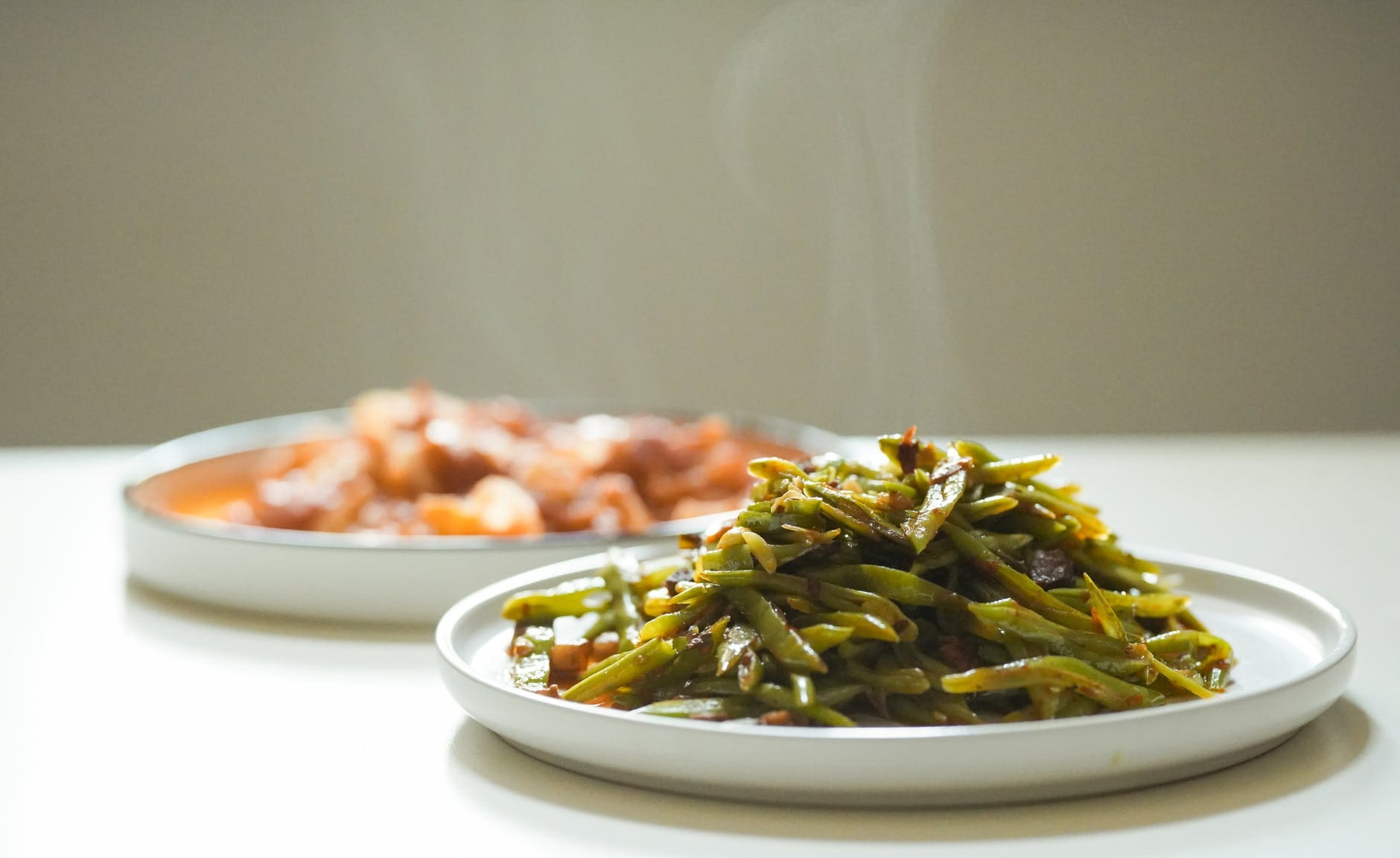How to make a cold green bean salad