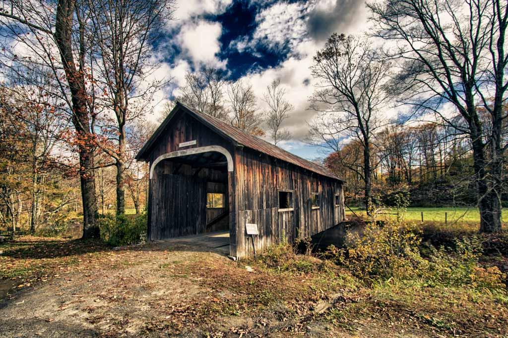 Ponte coperto-Covered bridge-New England