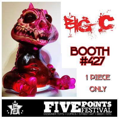 Five Points Festival 2018 Exclusive Baby Fatts Resin Figures by Big C