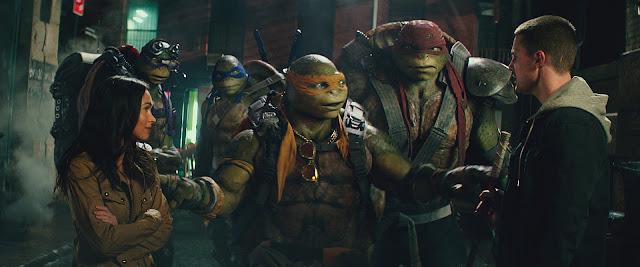 Filme Tartarugas Ninjas - Fora das Sombras