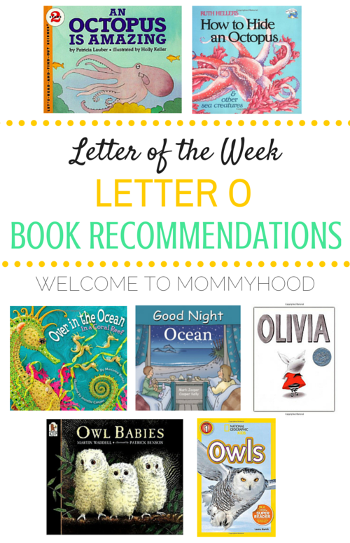 Tot Labs presents Letter of the Week: Letter Oo book recommendations by Welcome to Mommyhood, #preschoolactivities, #montessoriactivities, #montessori, #handsonlearning, #letteroftheweek, #lotw, #freeprintables