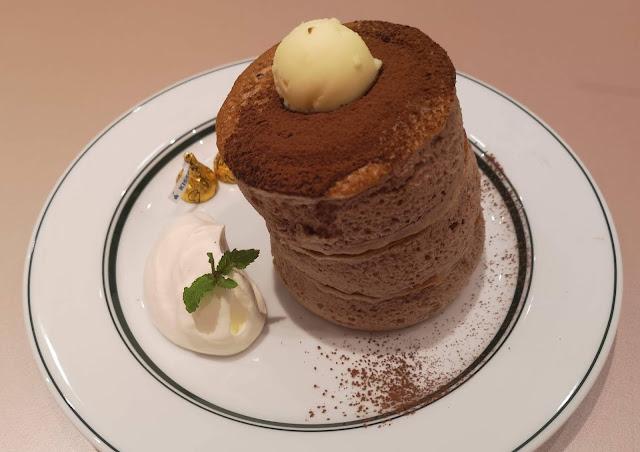 Gram x Hershey's Premium Chocolate Lava Pancakes