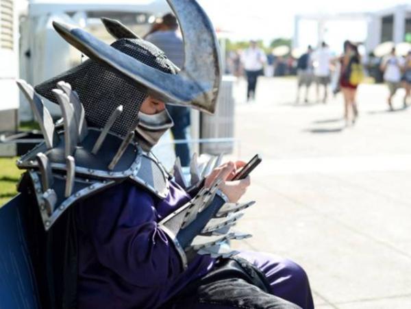 destruidor - tartaruga ninja cosplay