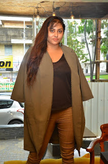 Actress Namitha  Pictures at Bobbys Bistro Christmas Cake Mixing Ceremony  0011.jpg