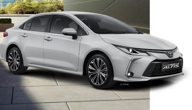 Harga Toyota New Toyota Altis