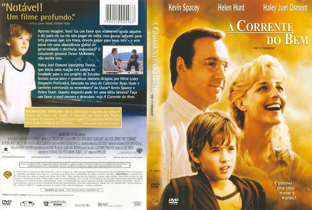 Capa DVD A Corrente do Bem