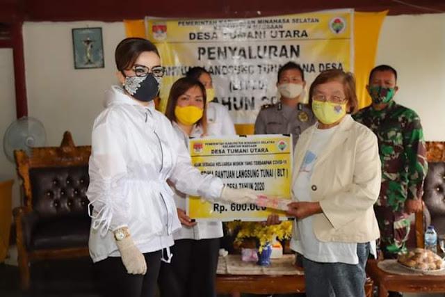 CEP Pantau Penyaluran BLT DD dan Bakal Sediakan 500ribu Masker Untuk Warga