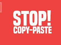 Untuk Para Pencuri Konten, Hentikan Aktivitas Anda