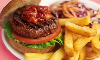 Slimming World's burger recipe