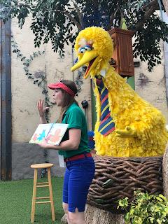 Big Bird Story Time