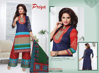 Fashionddiya Cotton Printed Dress Material Priya04