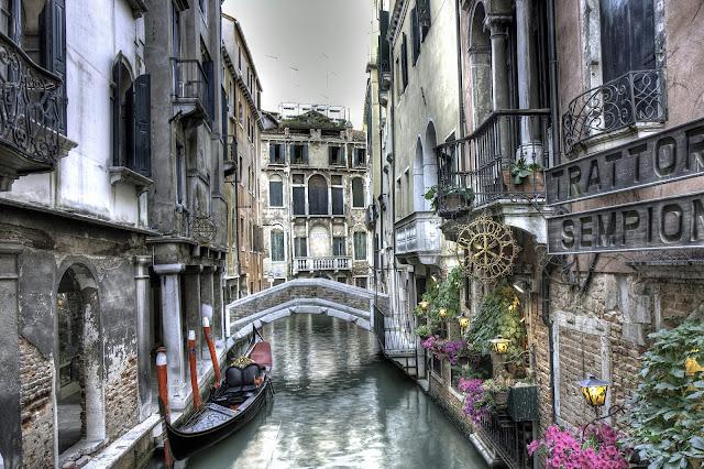 Городские улицы Венеции