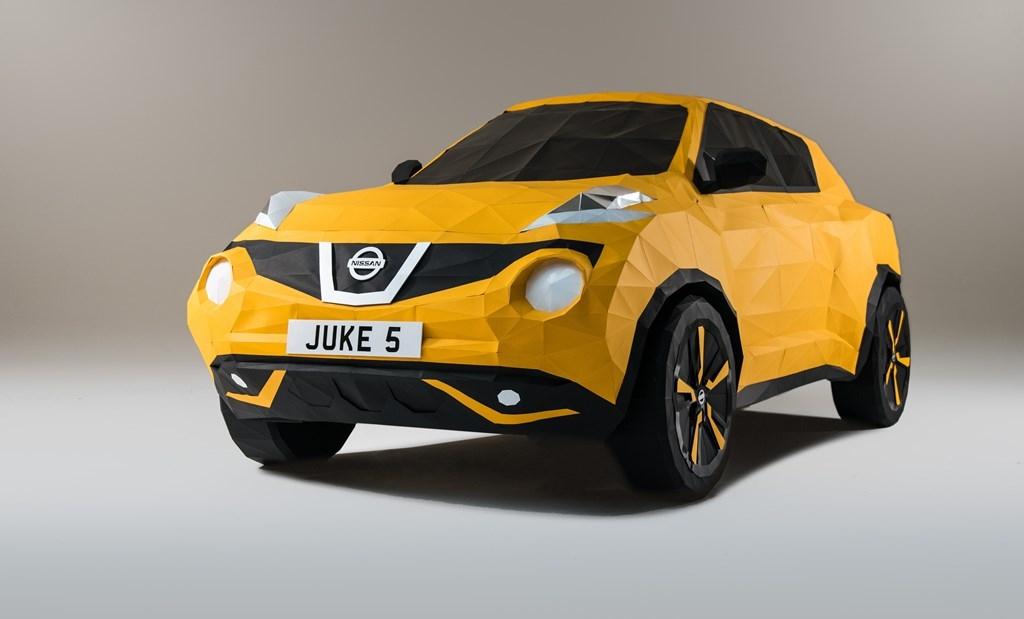 juke2 H Nissan το τερμάτισε: Έφτιαξε Juke από... χαρτί Nissan, Nissan Juke