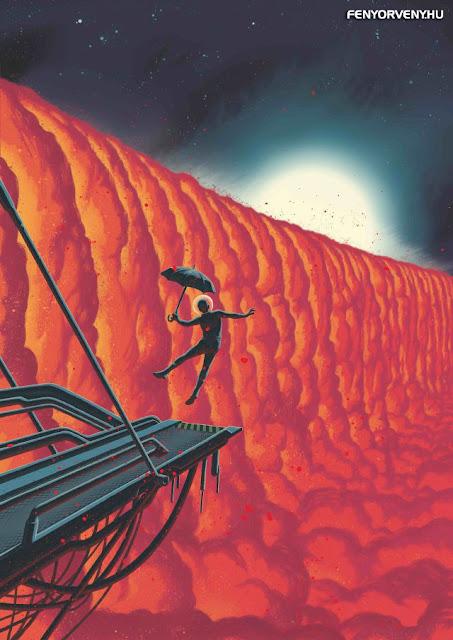 A bolygó, ahol vaseső hullik