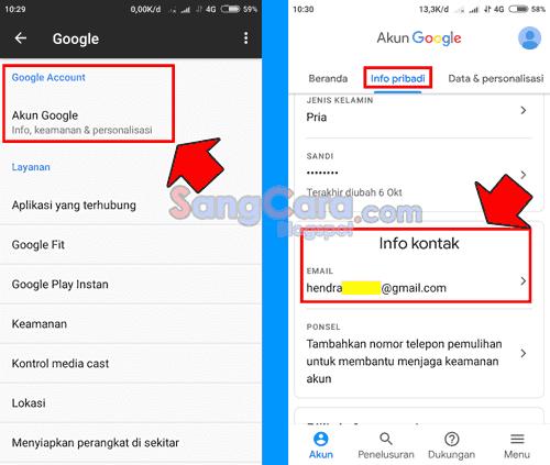 Contoh Alamat Email Pemulihan Gmail Bagaimana Cara Membuatnya