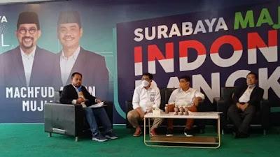 Gandeng 6 Pengacara, Machfud Arifin-Mujiaman Ajukan Gugatan Pilkada Surabaya ke MA