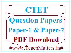 image: CTET Question Paper December 2019 @ TeachMatters