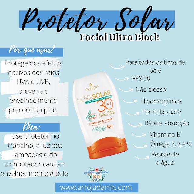 Resenha - Ultra Block Protetor Solar Facial