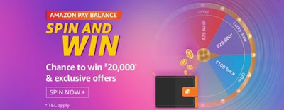 Amazon Pay Balance Spin and Win Quiz Answer
