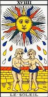 El Sol- Tarot Marsella