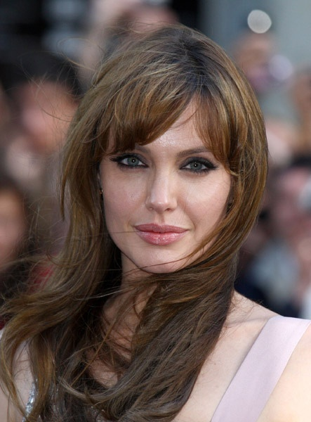 Hot Wallpaper Angelina Jolie Hair