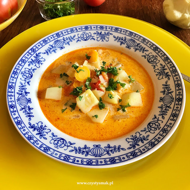 Curry z letnich warzyw