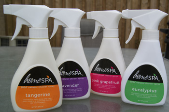HomeSpa: Shower Spray ~ #Review & #Giveaway