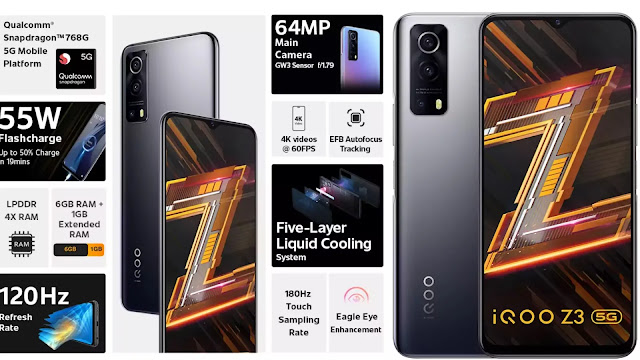 IQoo Z3 Review: A Powerful Smartphone