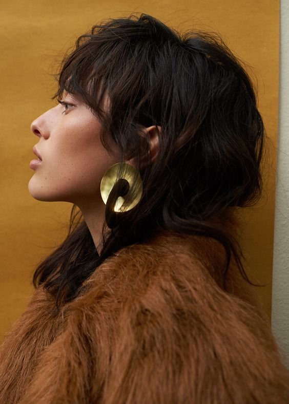 Fay Andrada Pari Disc Earrings | The Frankie Shop | Allegory of Vanity